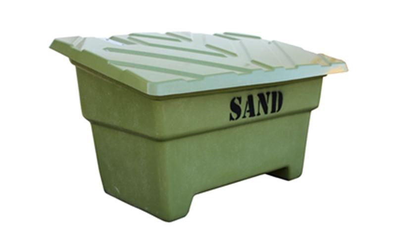 sandlåda för sandning